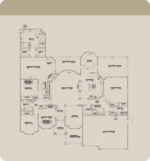 Wathen Dry Creek Mansionettes Cambria floorplan standard