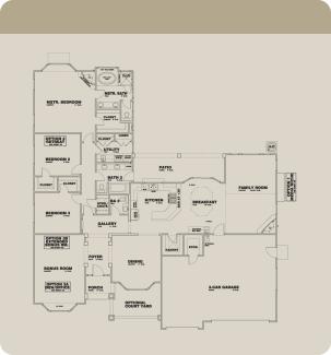 Wathen Dry Creek Mansionettes Cayucos floorplan standard