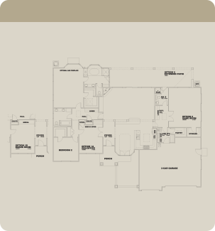 Wathen Dry Creek Mansionettes Pismo floorplan optional
