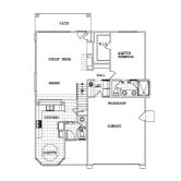 Wathen Mansionette Palisades La Jolla first floor